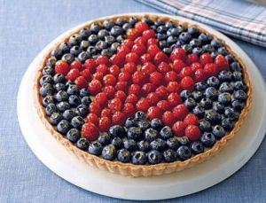 Star berry tart