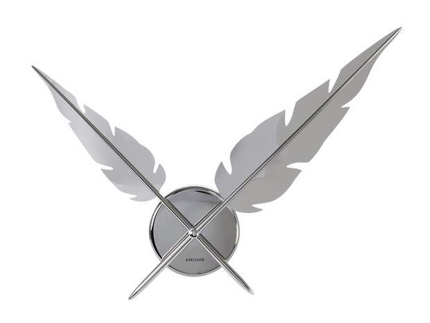 feathers_clock_present_time_chrome