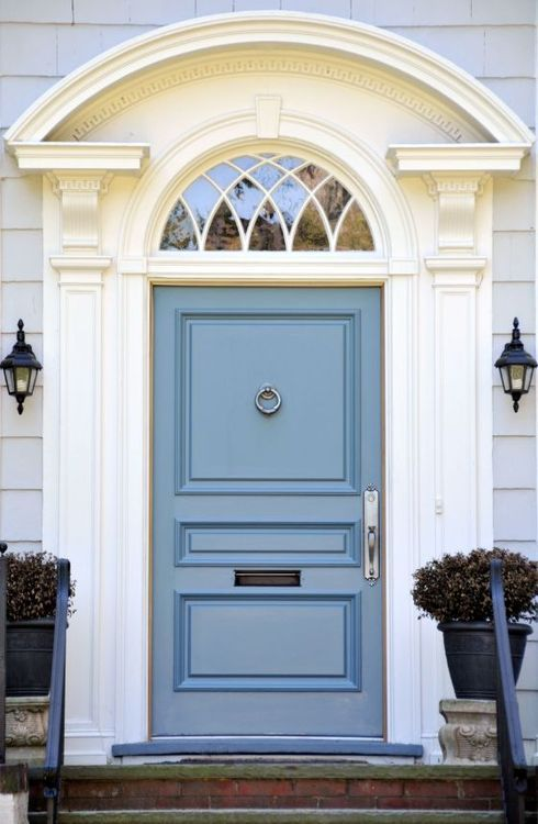 Statement front doors by Liv with Vision