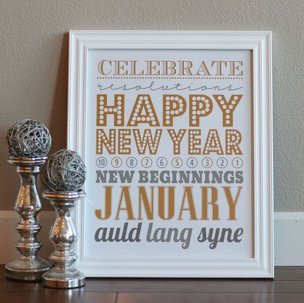 Liv with Vision | New Years Eve Decorating