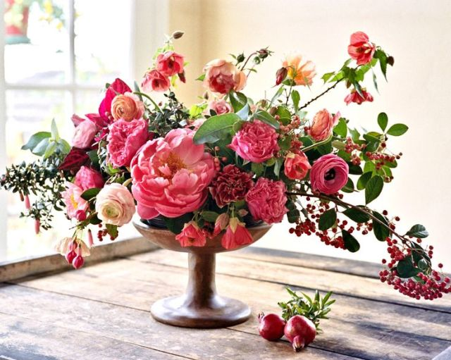 Liv with Vision   Deisgn CHallenge: Arranging flowers