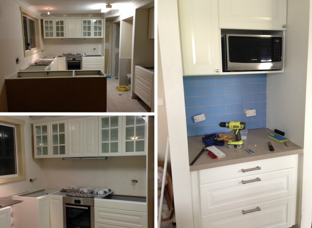 Kitchen Renovation - during | Liv with Vision