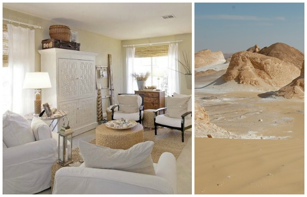 Egyptian desert inspiration