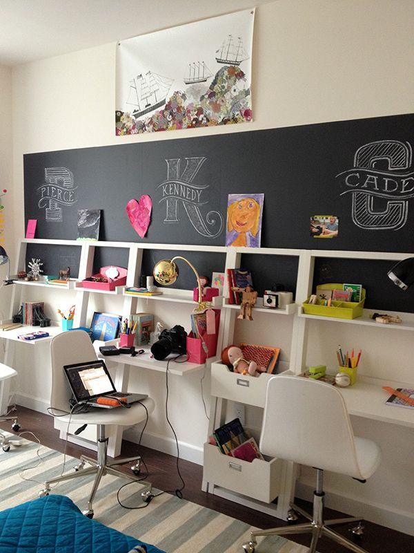 slimline study space