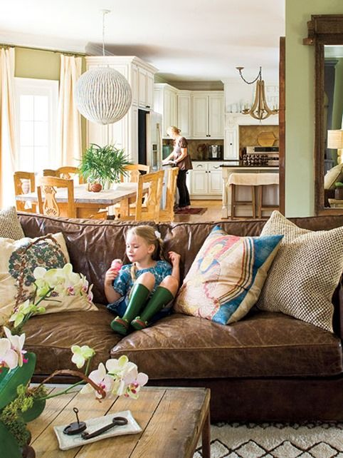 Caring for Leather furniture | Liv with Vision