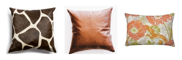A Cushy World: Autumn Cushion Combinations