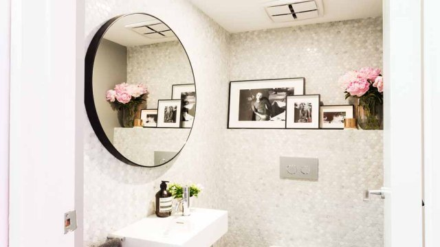 The Block - Darren & Deanne's Powder Room