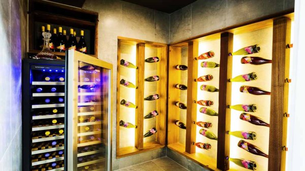 The Block - Josh & Charlotte's Wine Cellar