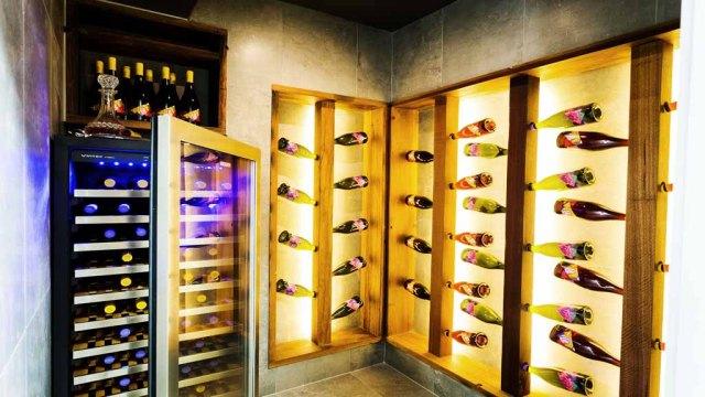 The Block - Josh & Charlotte's Wine Cellar