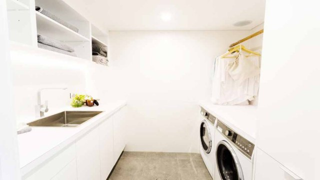The block - Josh & Charlotte's Laundry