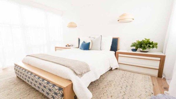 Jess + Ayden Guest Bedroom - The Block Triple Threat