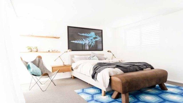 Josh + Charlotte Guest Bedroom - The Block Triple Threat