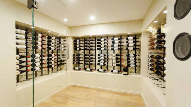 The Block - Tim & Anastasia's Wine Cellar