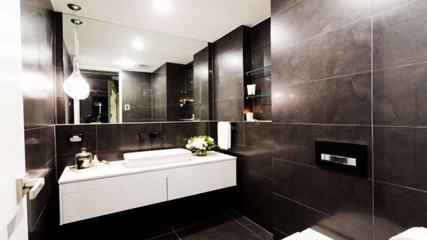 The Block - Tim & Anastasia's Powder Room