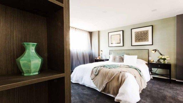 Tim + Anastasia Guest Bedroom - The Block Triple Threat