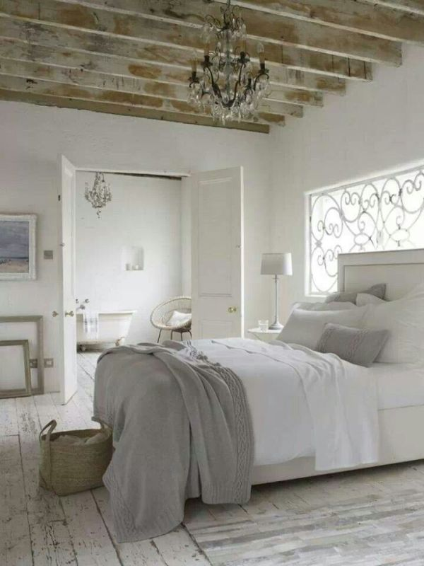 Rustic French Bedroom