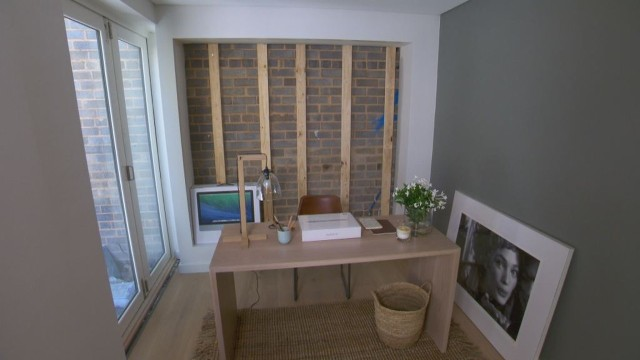 The Block Room Reveals' - Darren & Deanne's Study