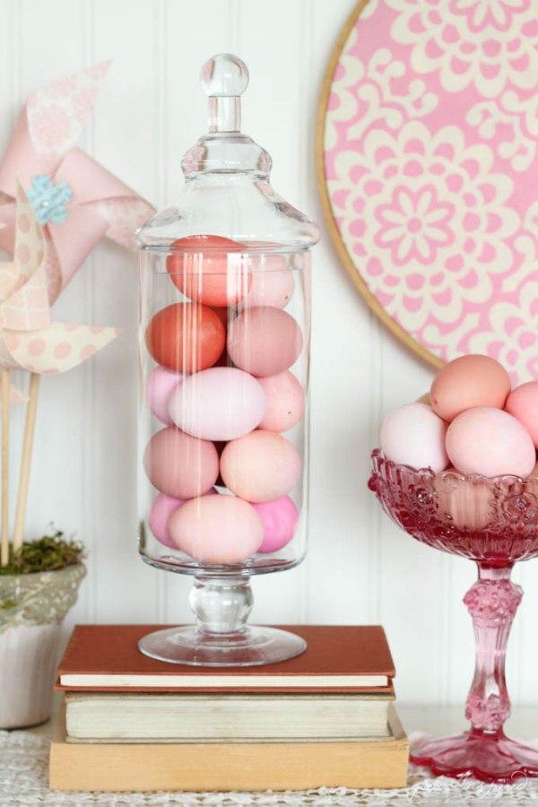 Monochromatic Easter Eggs