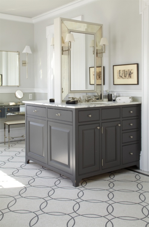Bold Patterned floors