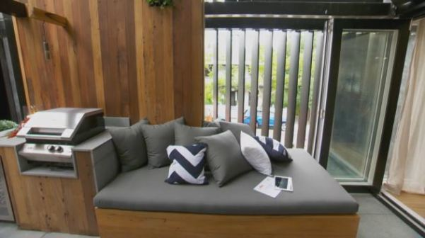 The Block Room Reveals - Josh & Charlotte's Terrace