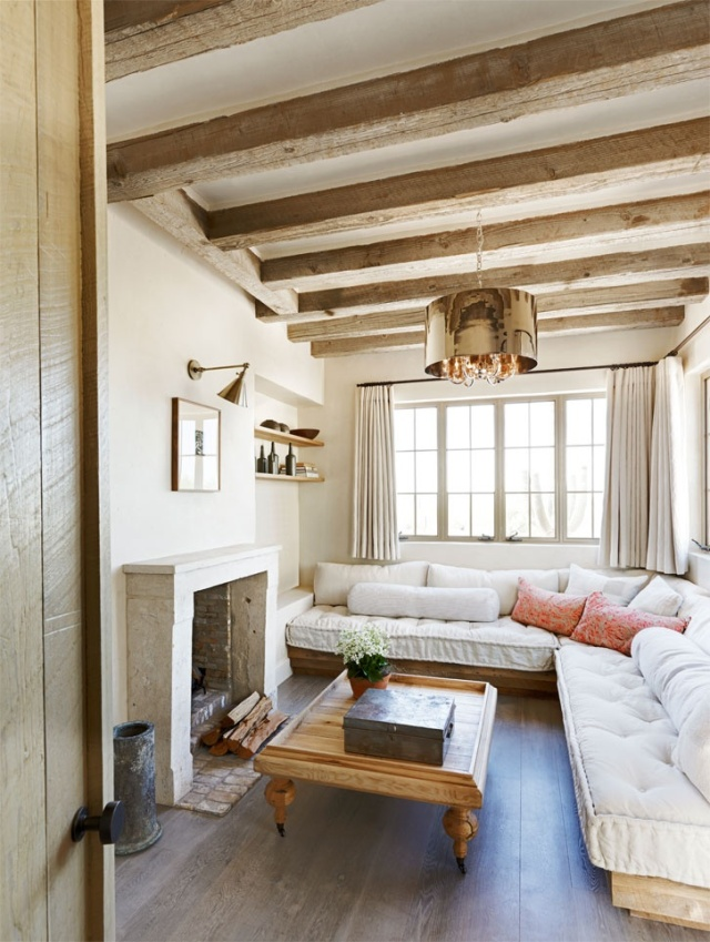 Rustic French Living area