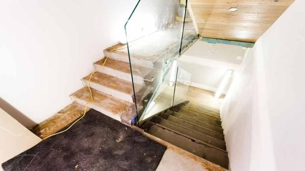 The Block room reveals - Tim & Anastasia stairs