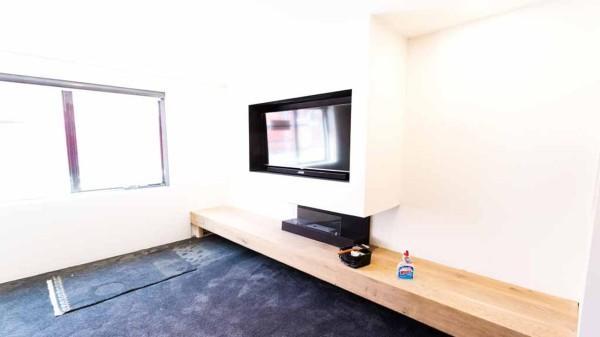 The block room reveals - Tim & Anastasia study