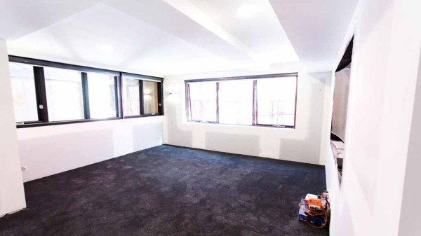 The block room reveals - Tim & Anastasia Theatre